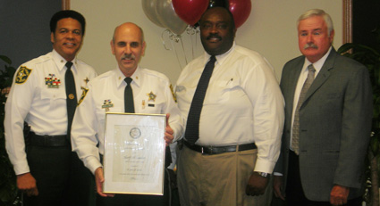 Sheriff Al Lamberti 30 years of service