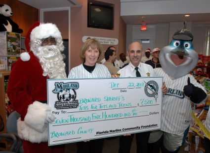 FLORIDA MARLINS Toys for Tots and Teens
