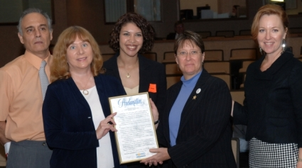 COUNTY COMMISSION RECOGNIZES MEMBER OF NEW BSO COMMUNITY ACTION TASKFORCE