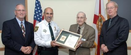Honoring BSO volunteer DavidRush