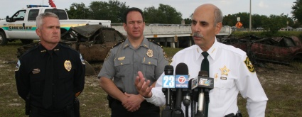 JOINT EFFORT NETS DOZENS OF VEHICLES IN WESTERN BROWARD CANAL