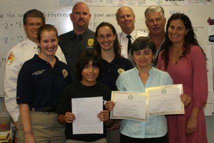 KIDS TAKE THE CAKE IN ARSON AWARENESS CONTEST