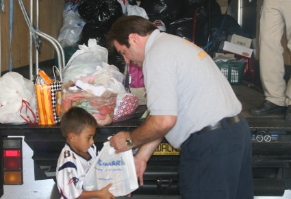 KINDERGARTNERS COLLECT FOR BSO RELIEF DRIVE